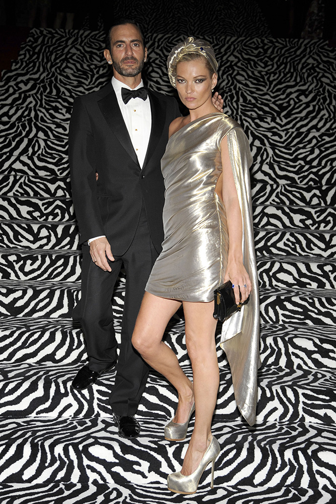 Marc Jacobs i Kate Moss podczas MET Gali w 2009 roku (Fot. Patrick McMullan, Getty Images)