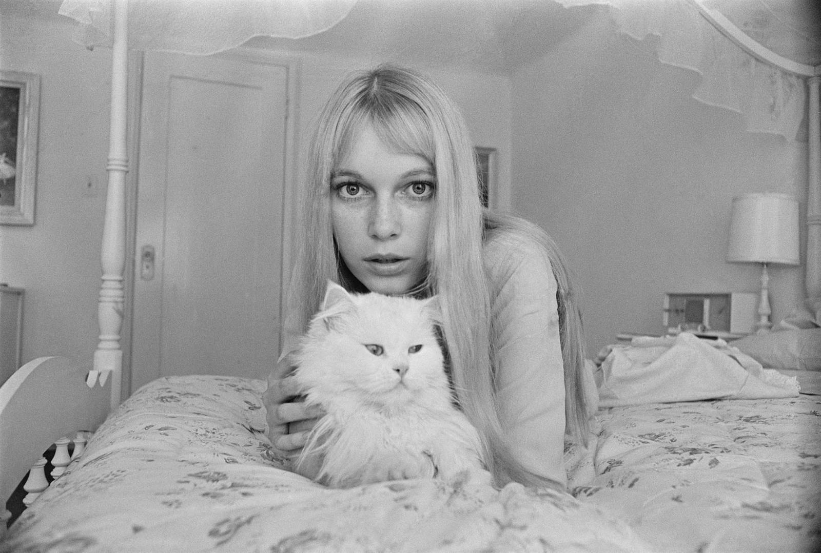 Mia Farrow z matką (Fot. Getty Imges)