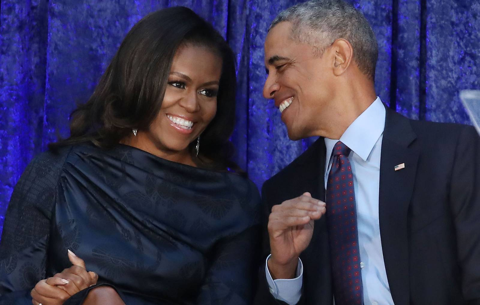 Michelle i Barack Obama (Fot. Getty Images)