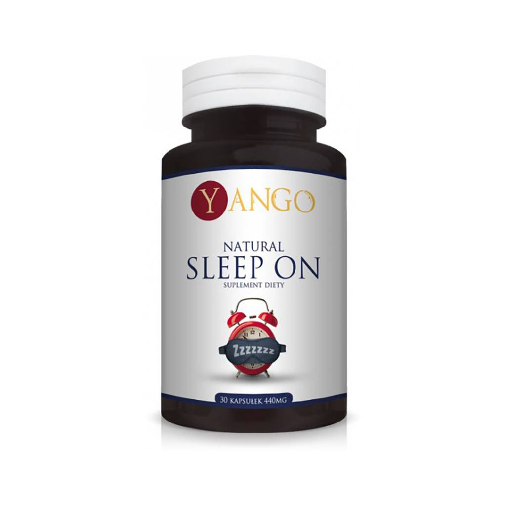 Suplement Natural Sleep On, Yango, cena 40,99 zł