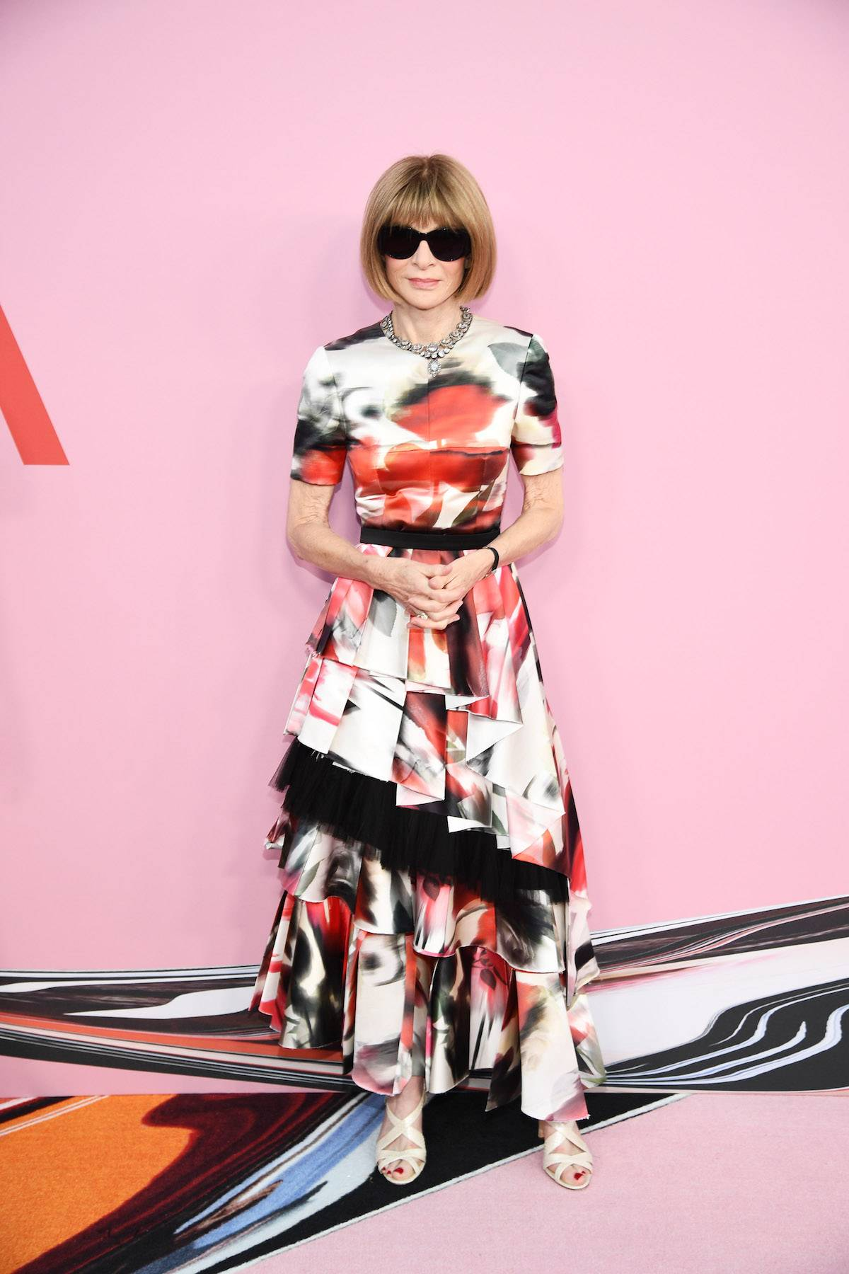 Anna Wintour na CFDA Awards w 2019 roku (Fot. Dimitrios Kambouris/Getty Image)