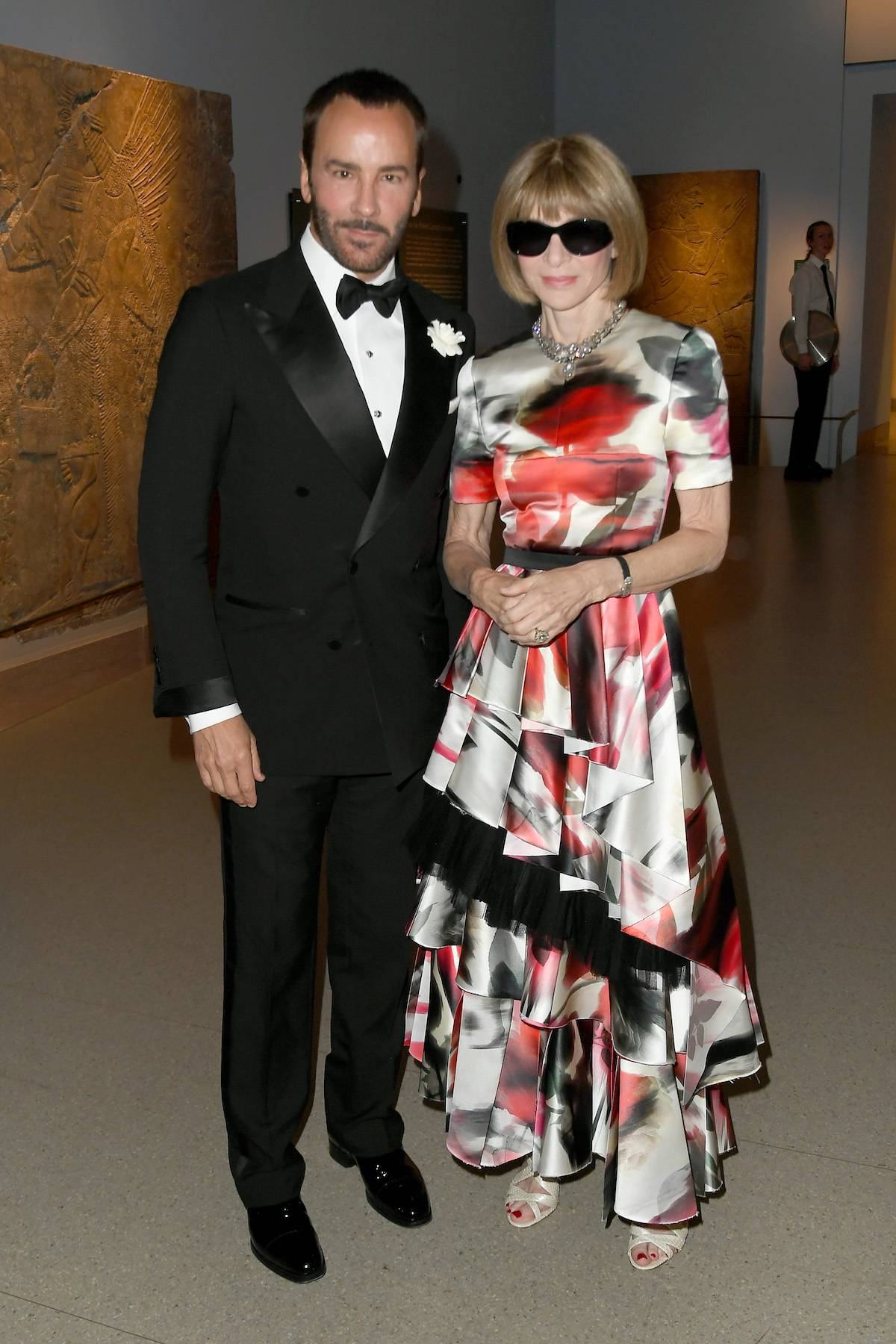 Tom Ford i Anna Wintour na CFDA Awards w 2019 roku (Fot. Nicholas Hunt/Getty Images)