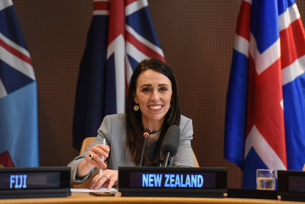 Jacinda Ardern (Fot. Stephanie Keith/Getty Images)