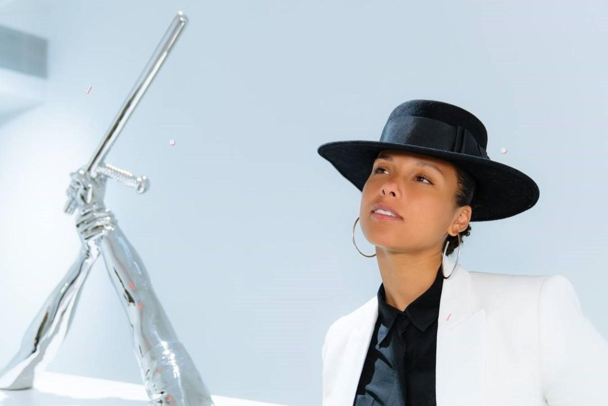 Alicia Keys (Fot. Wiese/face to face, EAST NEWS)