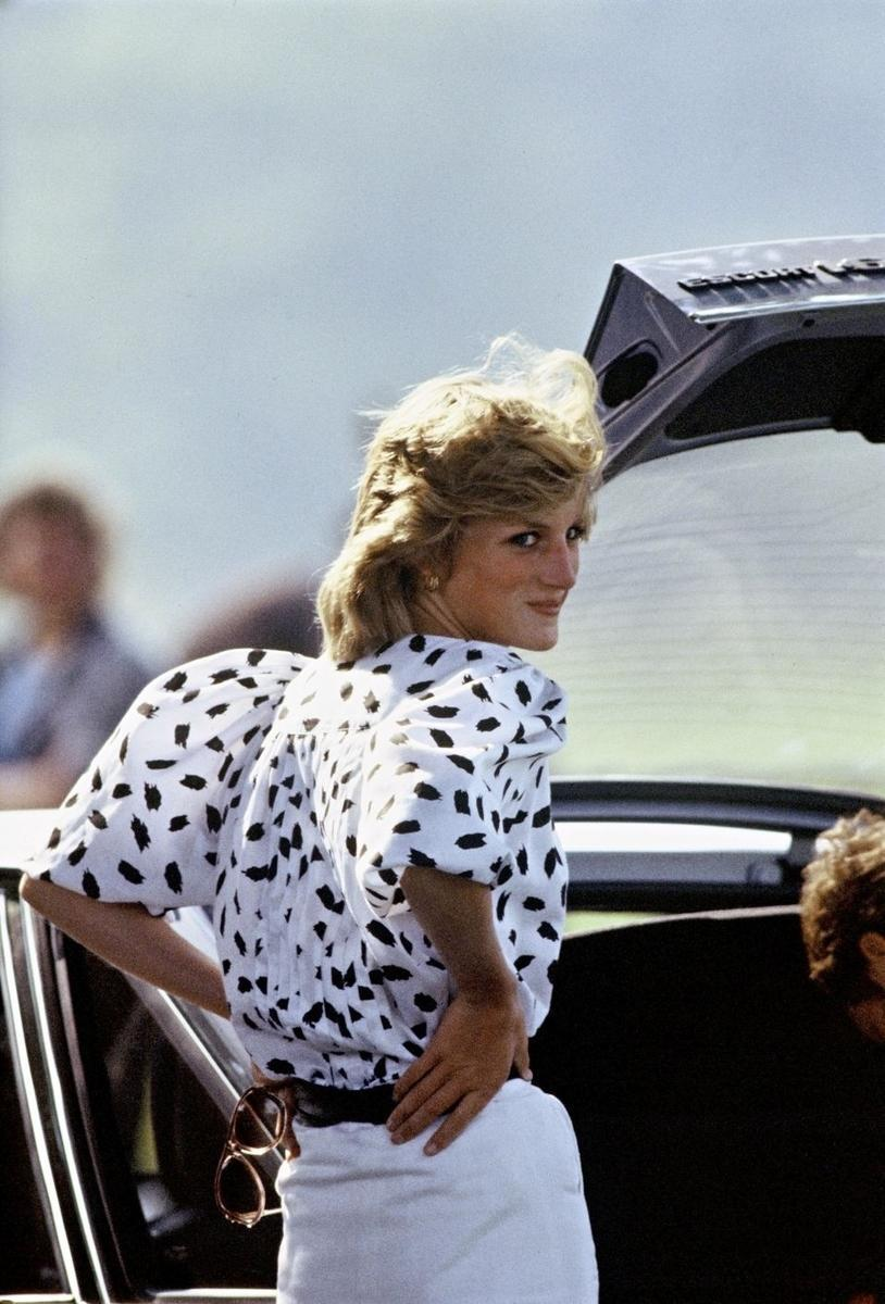 Lady Di, 1983 (Fot. Anwar Hussein, Getty Images)