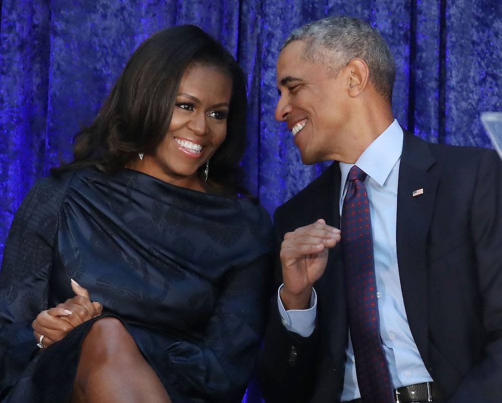 Michelle i Barack Obamowie (Fot. Getty Images)