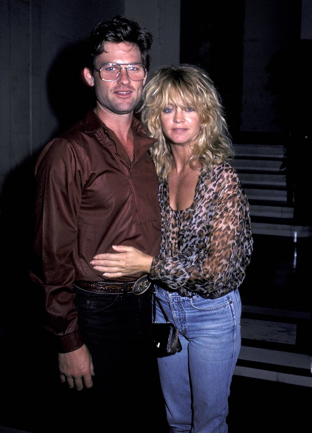 Kurt Russell i Goldie Hawn (Fot. Ron Galella/Ron Galella Collection via Getty Images)