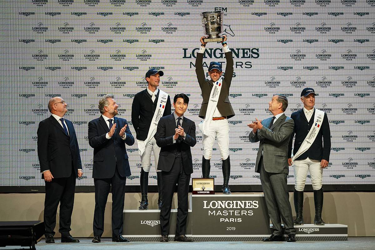 Zwycięzcy konkurencji Longines Grand Prix of Paris 2019