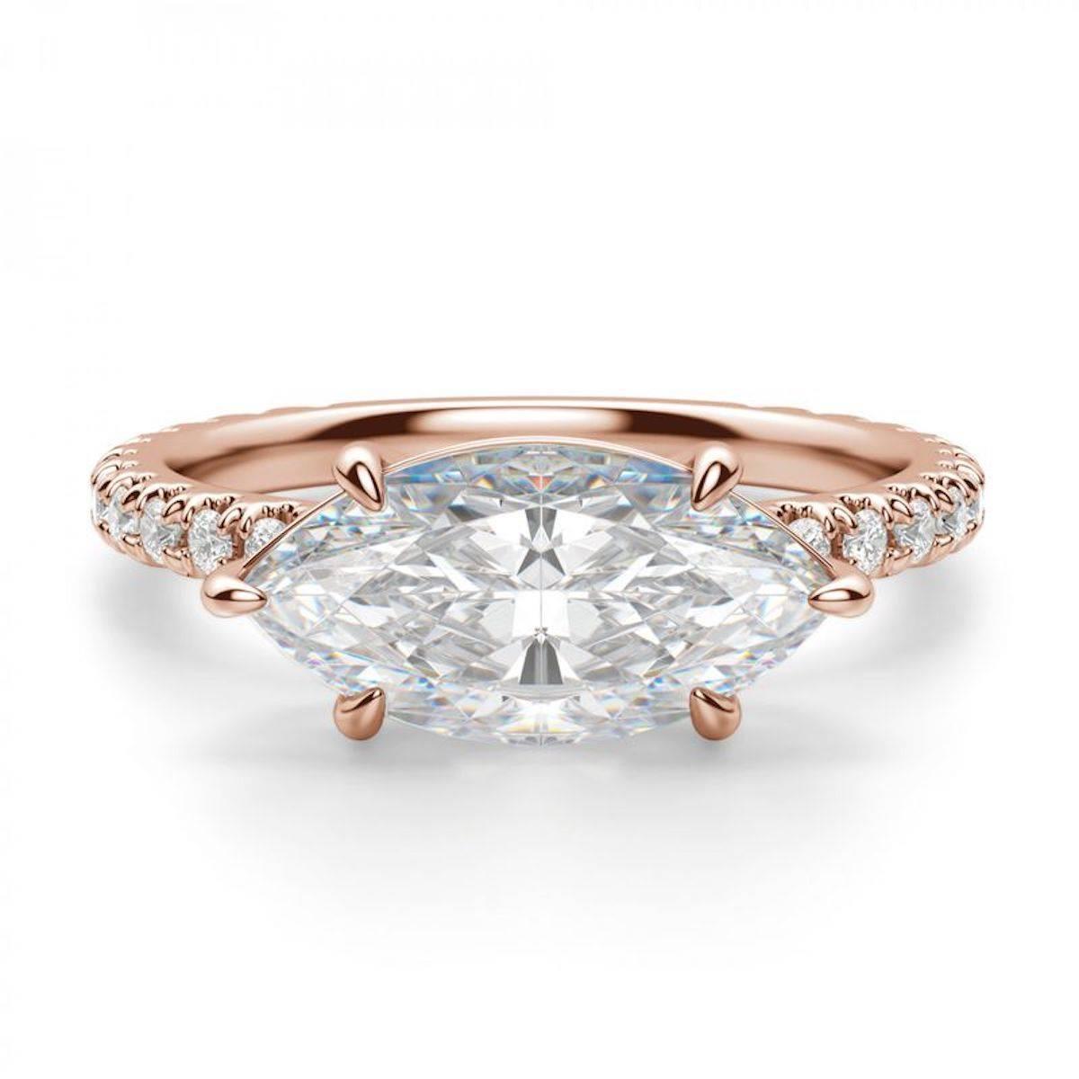 Кольцо с ремешком из розового золота от Diamond Nexus (Фото: пресс-материалы)