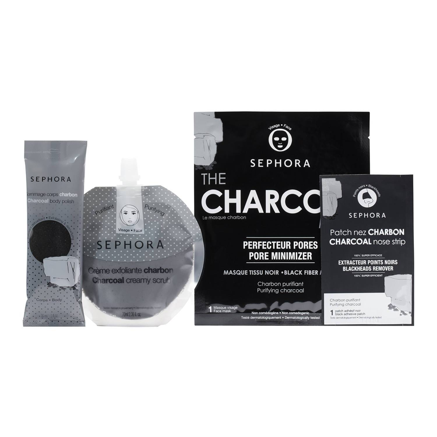 The Charcoal Kit, Sephora Collection, 59 pln