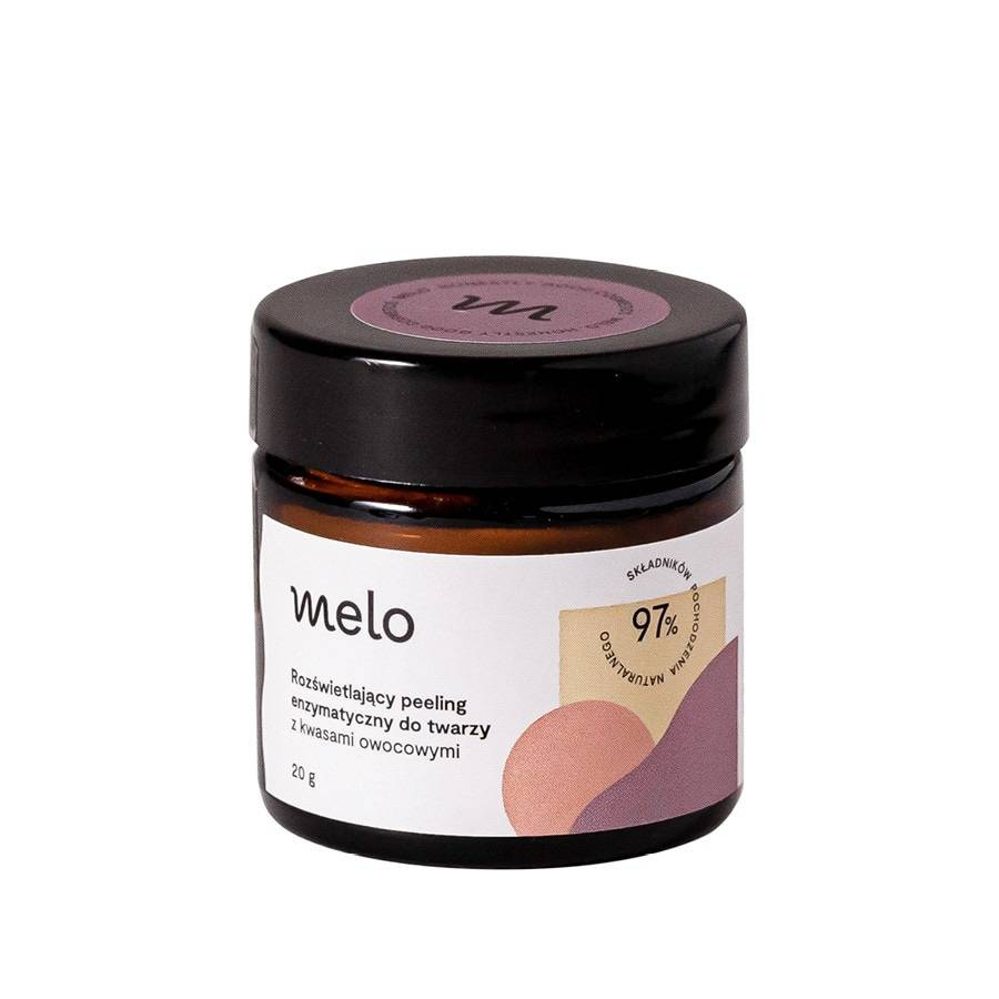 Rozświetlający peeling enzymatyczny Melo, 35 zł (Fot. Materiały prasowe)