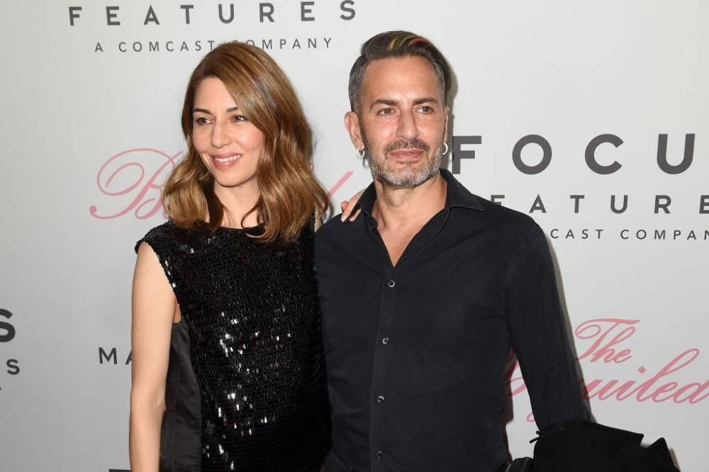 Sofia Coppola i Marc Jacobs w 2017 roku (Fot. Nicholas Hunt/Getty Images)