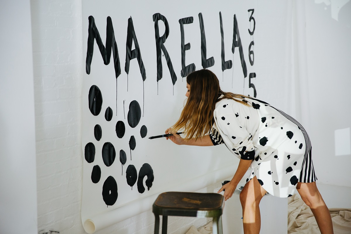 Backstage kampanii Quentin Jones x Marella