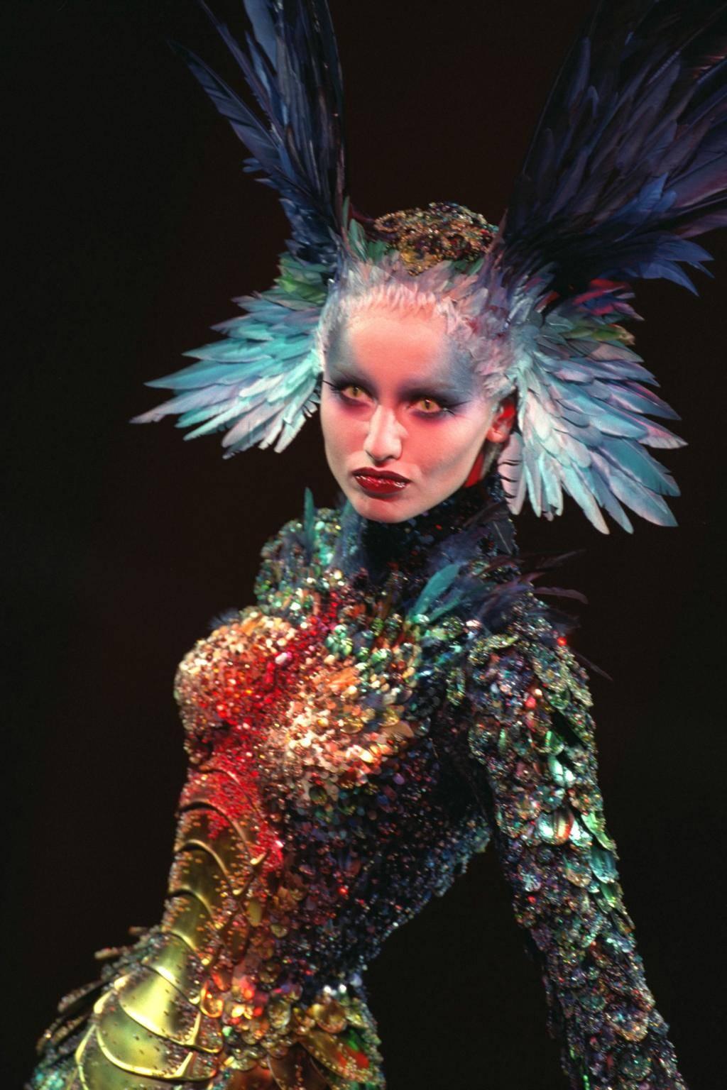 Thierry Mugler couture jesień-zima 1997
