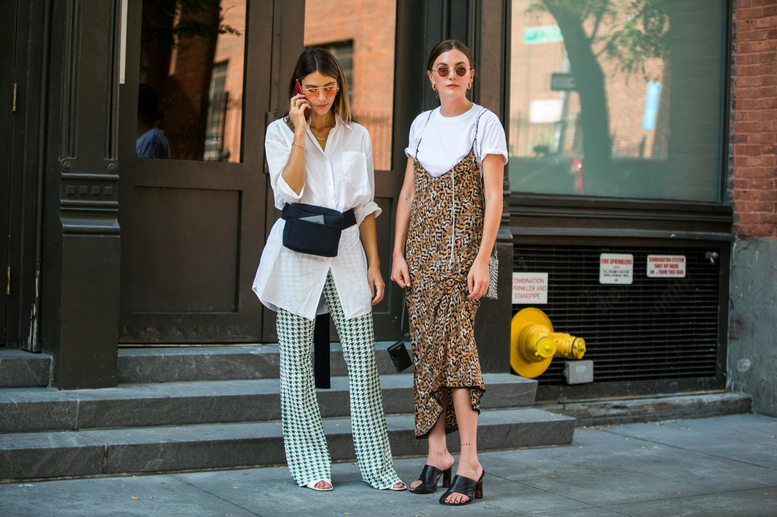 1eee5940b827a Stylizacje street style podczas NYFW wiosna-lato 2019 (Fot. Getty Images)