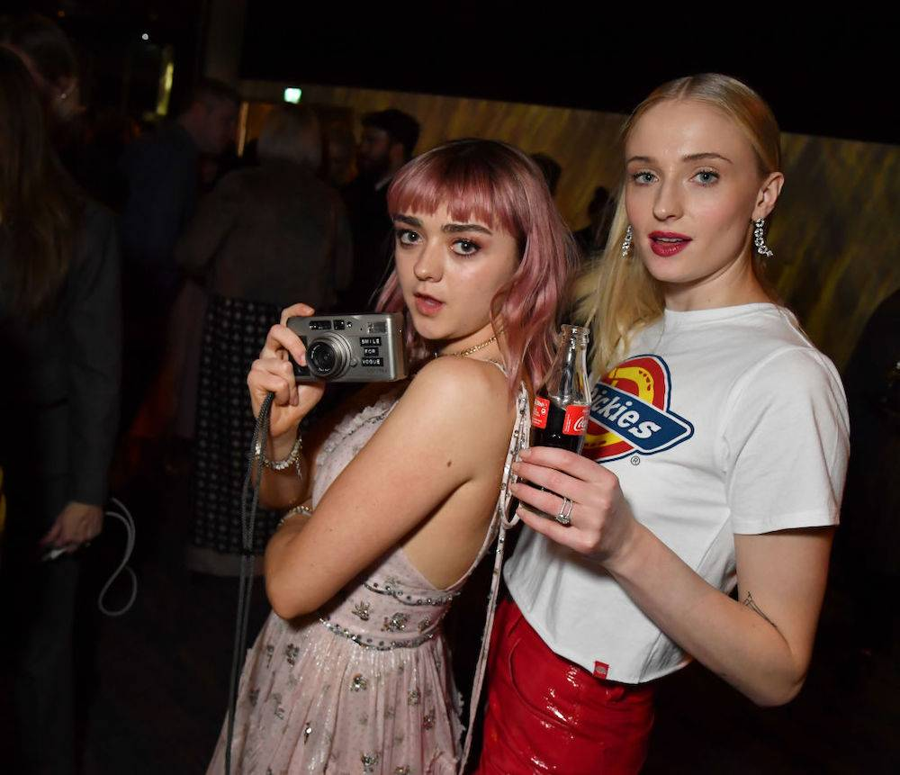 Sophie z Maisie Williams (Fot. Getty Images)