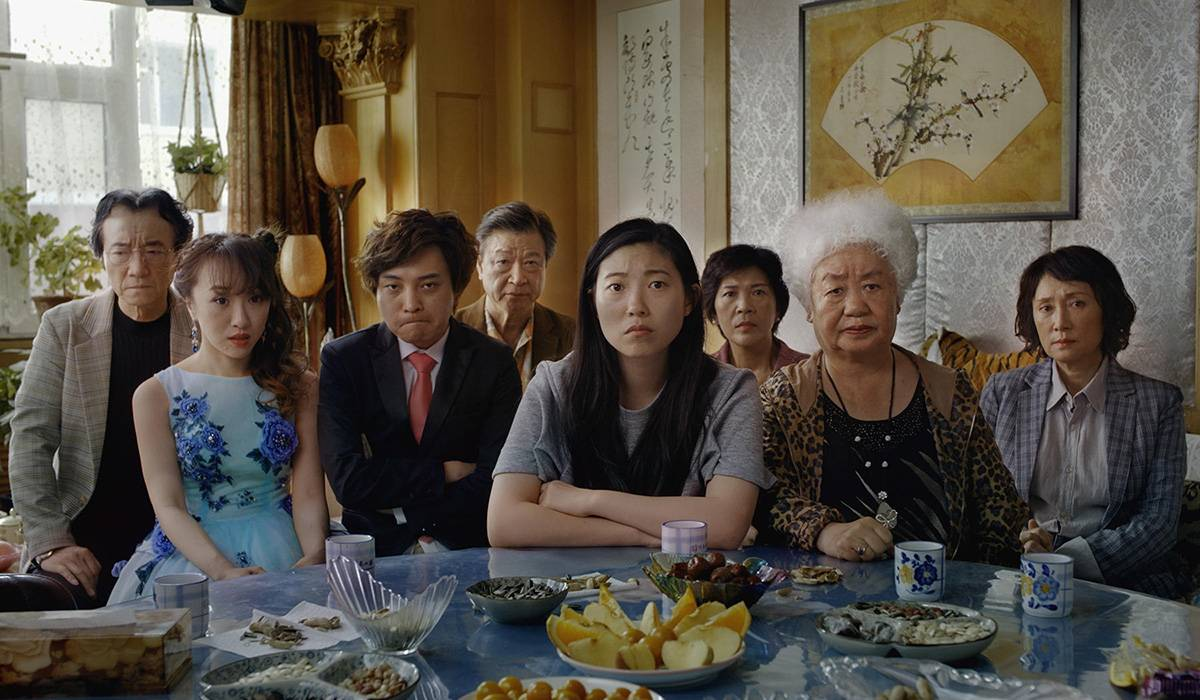 Kadr z filmu The Farewell