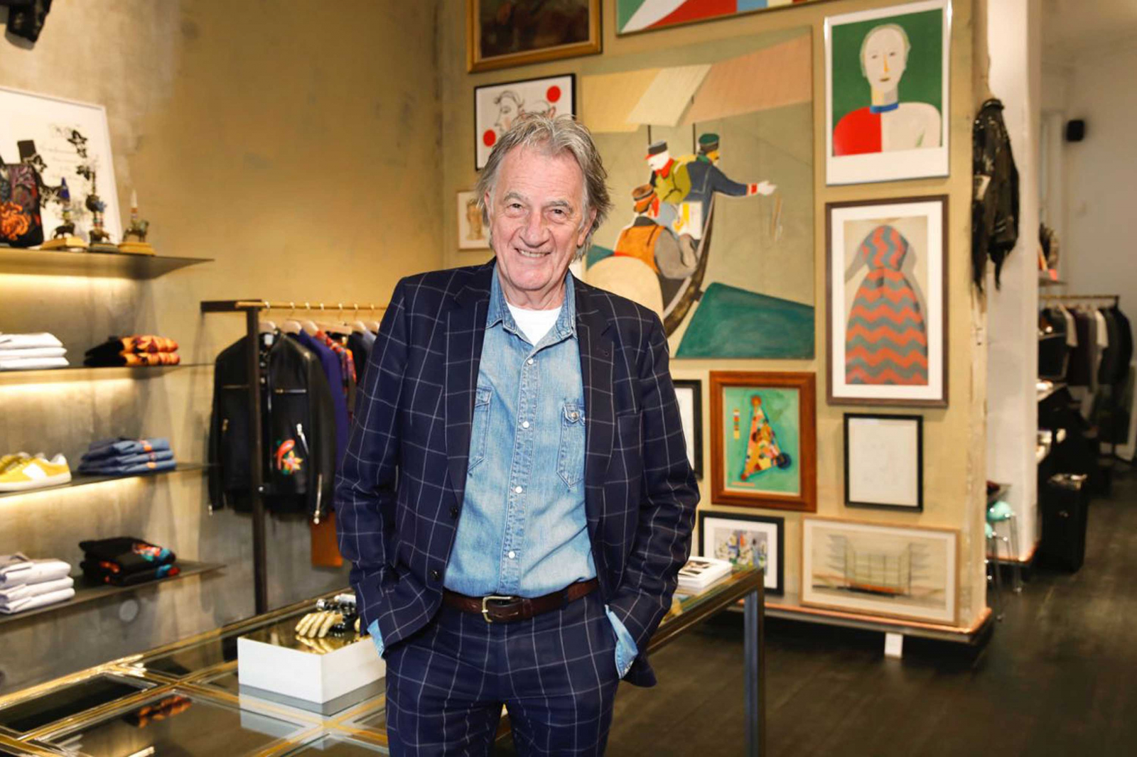 Paul Smith Still Addicted To The Informal Suit
