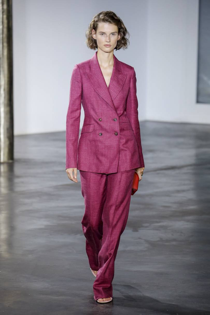 Gabriela Hearst spring/summer ready-to-wear 2019 Credit: LUCA TOMBOLINI/INDIGITAL.TV