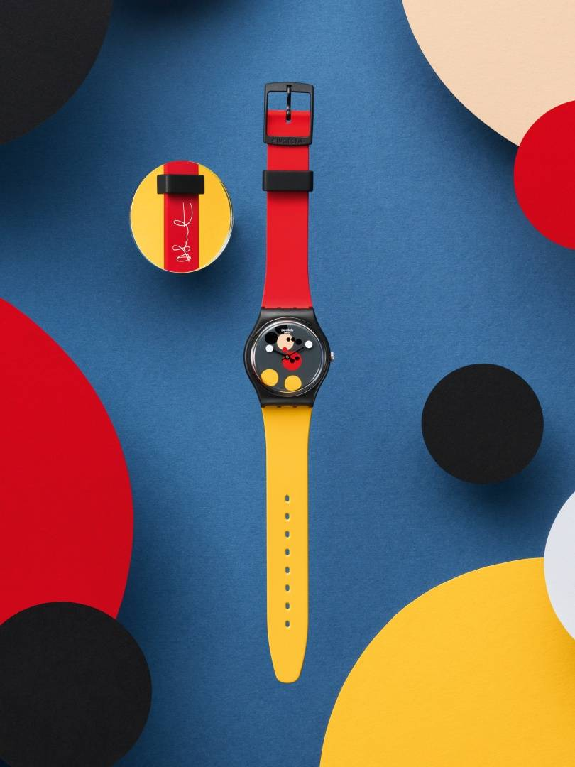 Swatch x Damien Hirst, model Spot Mickey