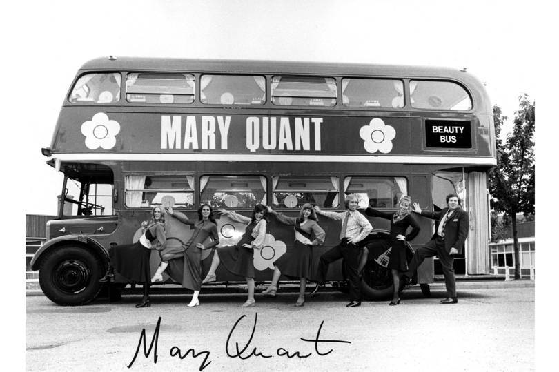 The Mary Quant Beauty Bus in 1971