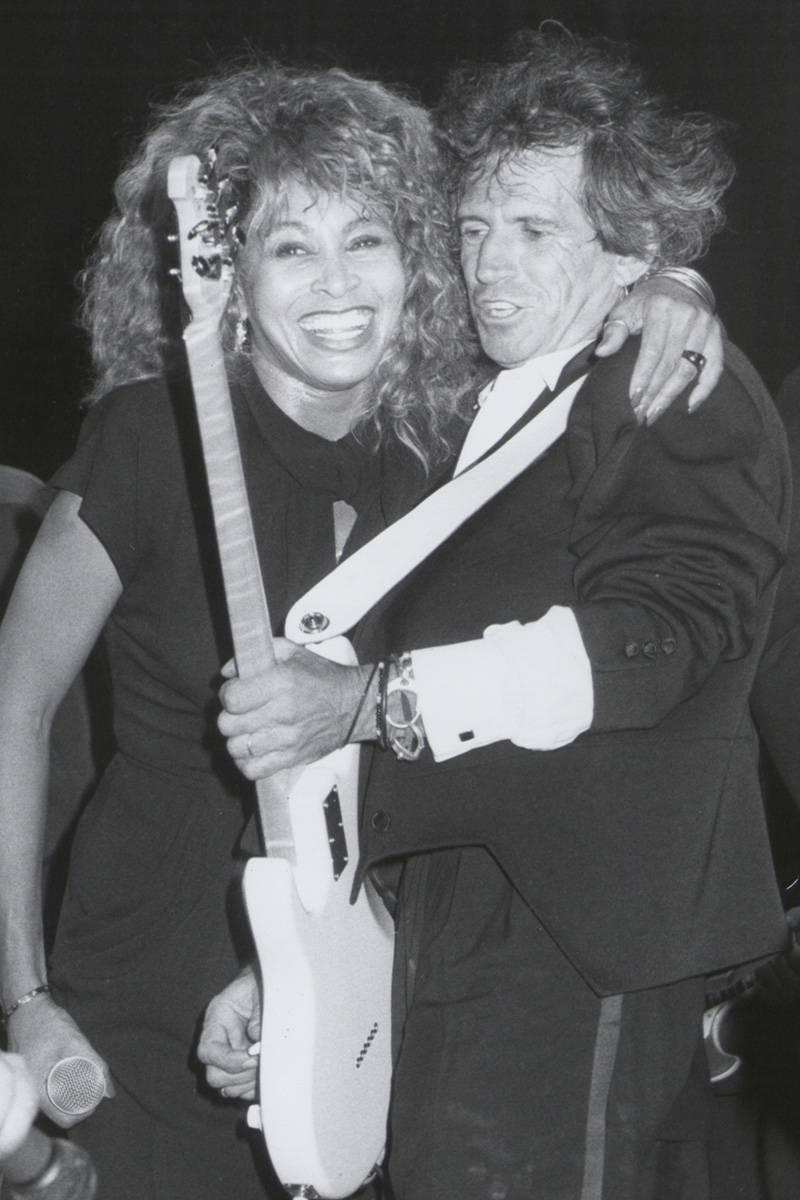 Tina Turner i Keith Richards, 1985 rok (Fot. The LIFE Picture Collection via Getty Images)