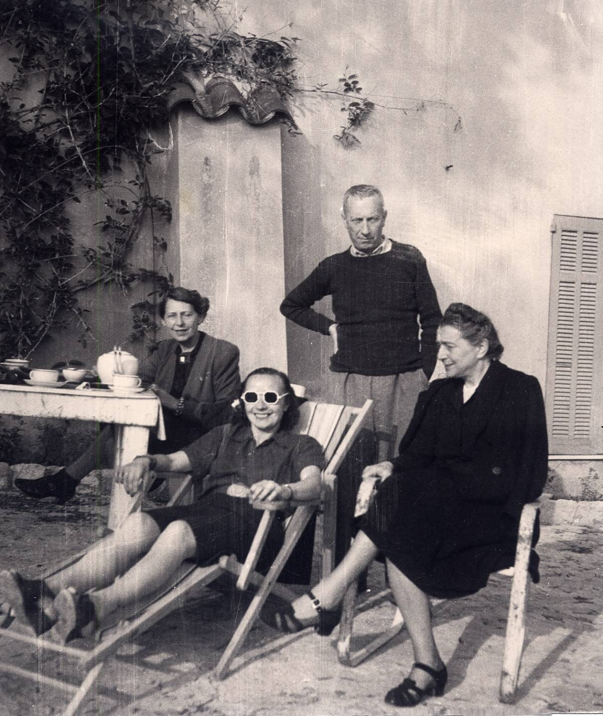 Sophie Taeuber-Arp, Nelly van Doesburg, Hans Arpi Sonia Delaunay, Grasse