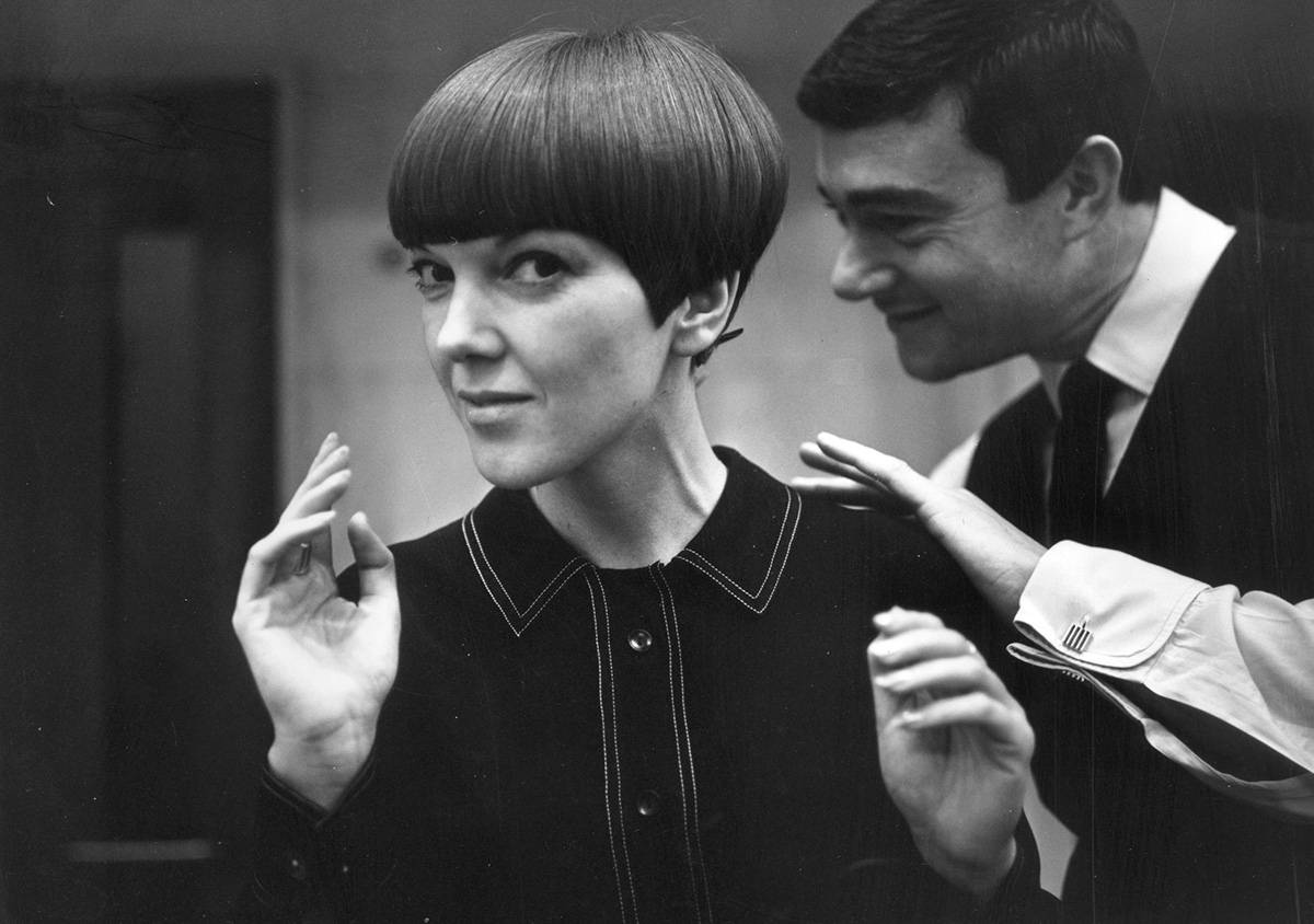 Mary Quant i Vidal Sassoon, 1964 rok