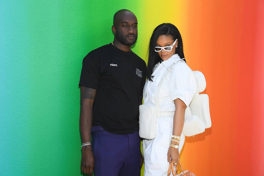 Virgil Abloh z Rihanną (Fot. Getty Images)