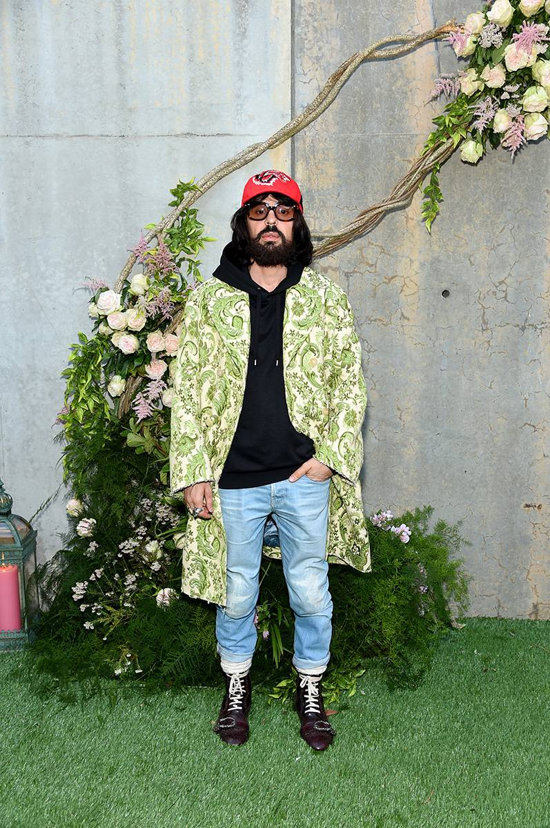 Alessandro Michele (Fot. Jamie McCarthy/Getty Images for Gucci)